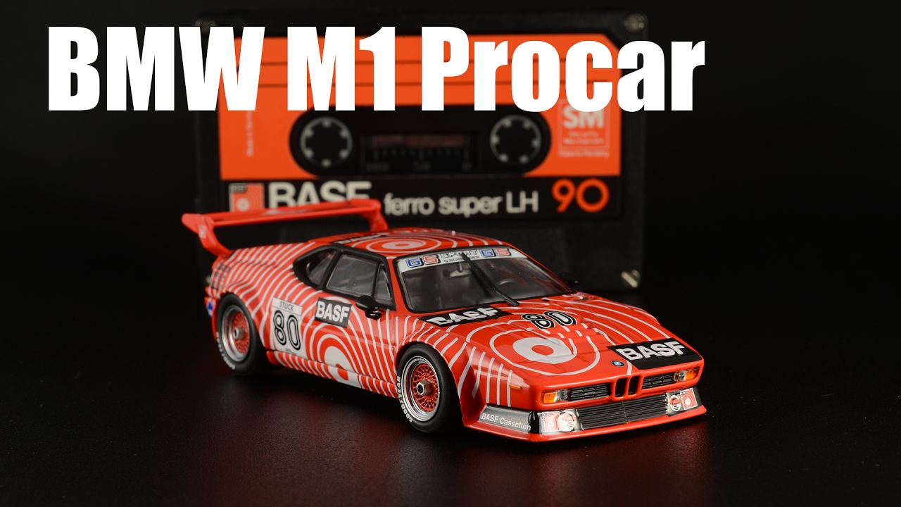 Bmw M1 Procar Hans Joachim Stuck Basf Minichamps 143 Youtube