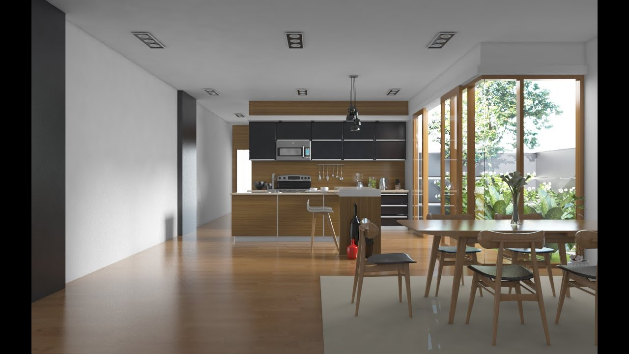 Tutorial Vray Sketchup 1 Realistic Kitchen