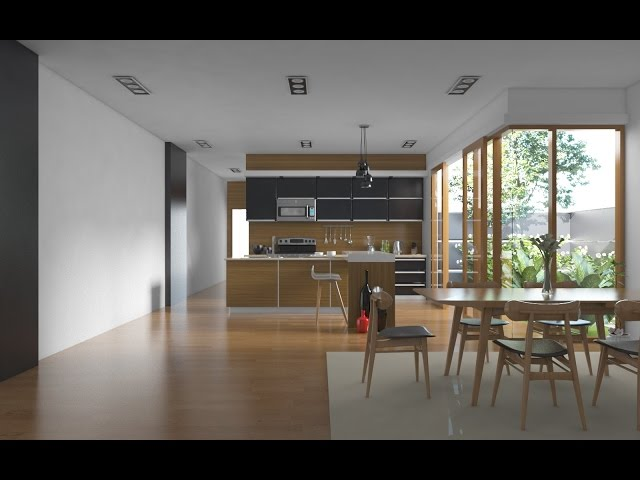 How To Design A Realistic Kitchen With Vray Sketchup Sketchup World