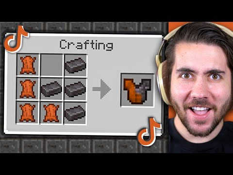 Testing VIRAL Minecraft Hacks To See If They Work