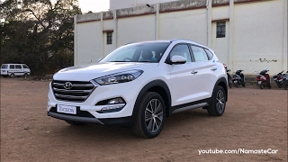 creta Evolution - Hyundai Tucson 2017  Real-life review