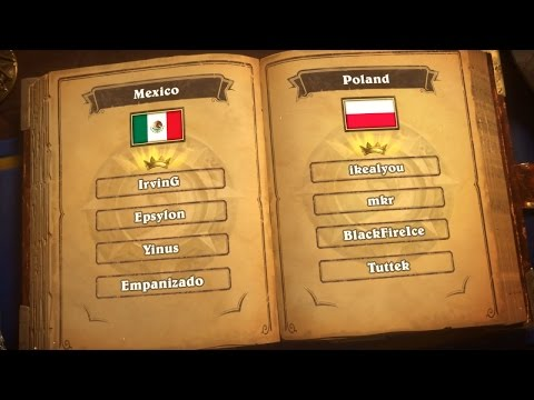 Mexico vs. Poland - Group G - Match 2 - 2017 Hearthstone Global Games  - Week 2