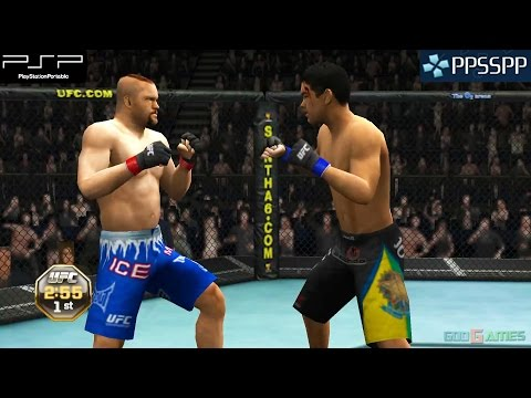UFC Undisputed 2010 - PSP Gameplay 1080p (PPSSPP)