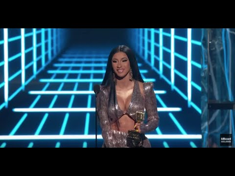 Cardi B Wins Top Rap Song - BBMAs 2019