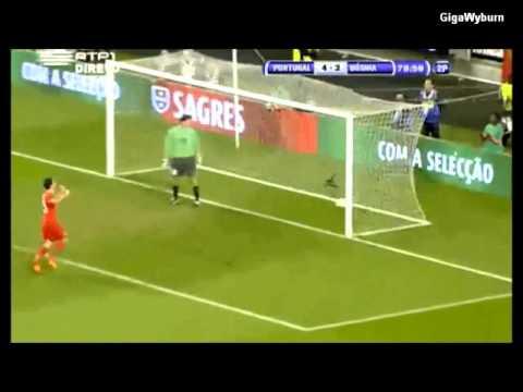 Download Amazing goals Cristiano Ronaldo, Nani and Miguel Veloso, Portugal 6-2 Bosnia - Euro 2012