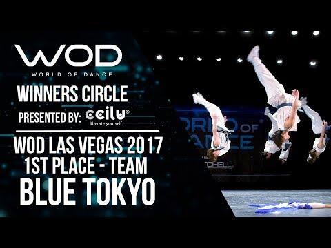 Blue Tokyo | 1st Place Team | Winners Circle | World of Dance Las Vegas 2017 | #WODLV17