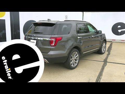 Trailer Hitch Installation - 2017 Ford Explorer - Draw-Tite - etrailer.com