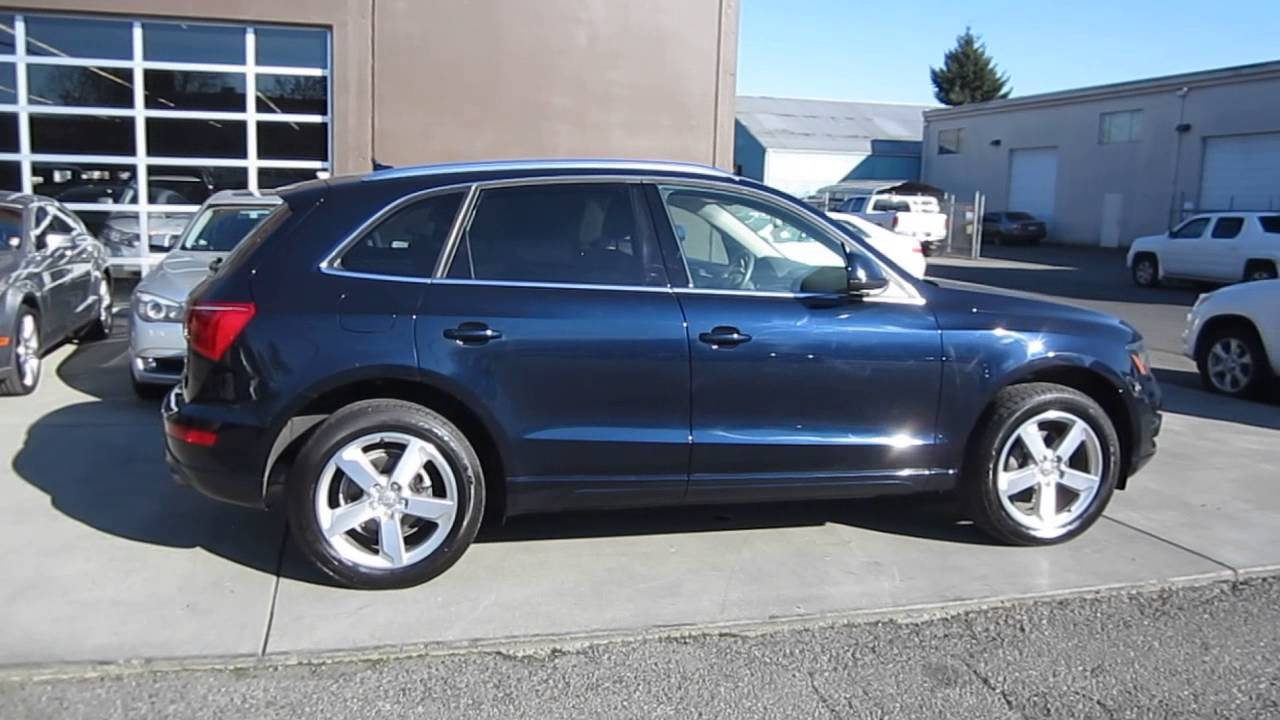 2010 Audi Q5 Dark Blue Stock 084628 Walk Around