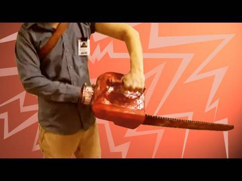 Evil Dead Chainsaw Arm Costume : BFX