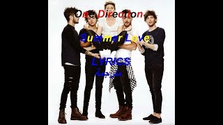 One Direction - Summer Love LYRICS مترجمة