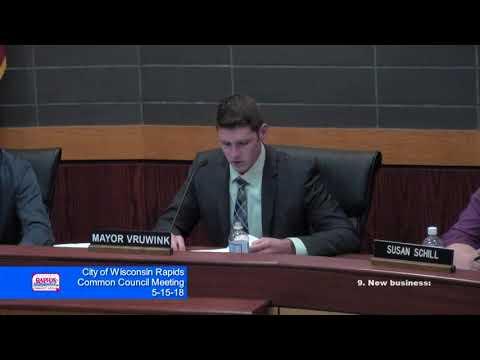 Wisconsin Rapids City Council Meeting 5-16-18