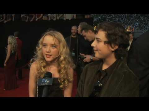 People's Choice Awards  Kathryn Newton and Ryan Malgarini