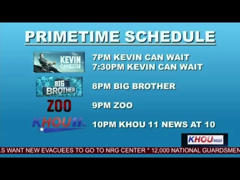 KHOU 11 Tracking Harvey