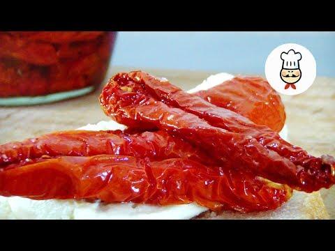 ВЯЛЕНЫЕ ПОМИДОРЫ ДЛИТЕЛЬНОГО ХРАНЕНИЯ / Рецепт вяленых томатов в духовке / Sun Dried Tomatoes
