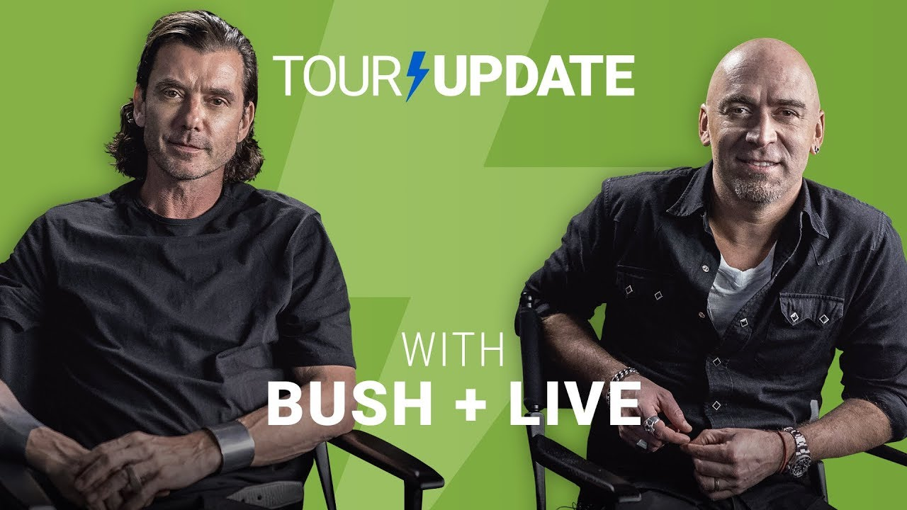 Tour Update: Bush + Live Dive Into The Setlist Building Process | setlist fm