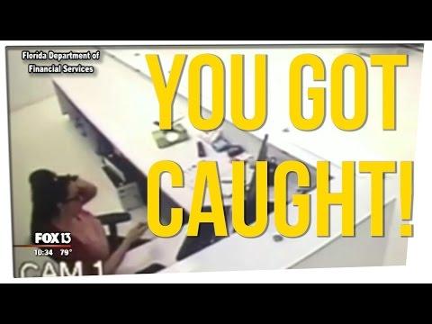 Woman Caught Committing Insurance Fraud at Work ft. Ricky Shucks & DavidSoComedy