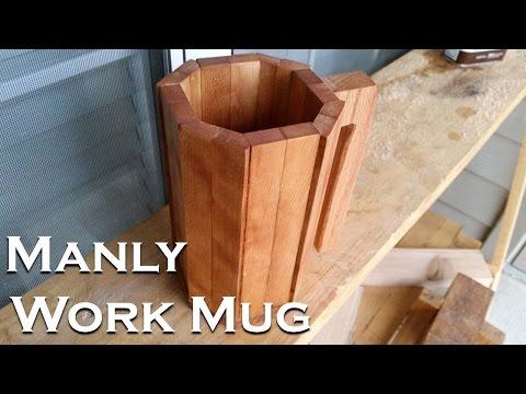 Making a Manly Work Mug!
