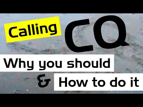 Foundation guide to calling CQ