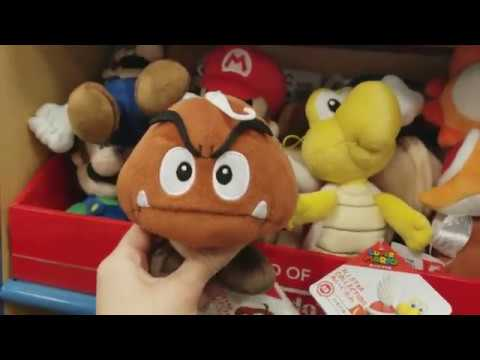 Nintendo Plushies and more @ Barnes and Noble