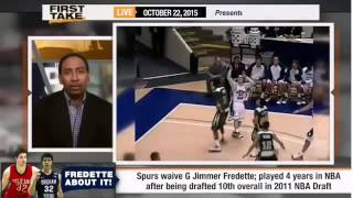 ESPN First Take Official – Jimmer Fredette Among 4 Players Waived by Spurs [www.MangaUp.Net]