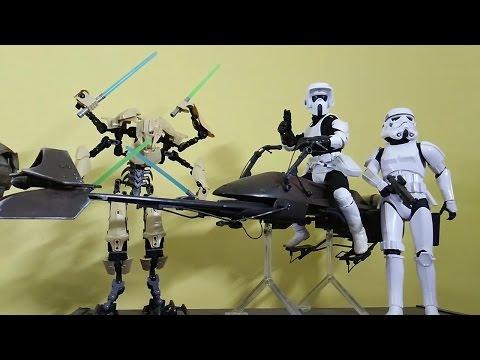 "Speeder Bike for 12/"" Figures-Hasbro-1//6 Scale-Star Wars Customize"