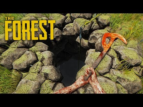 EXPLORING THE CAVES!! (The Forest)