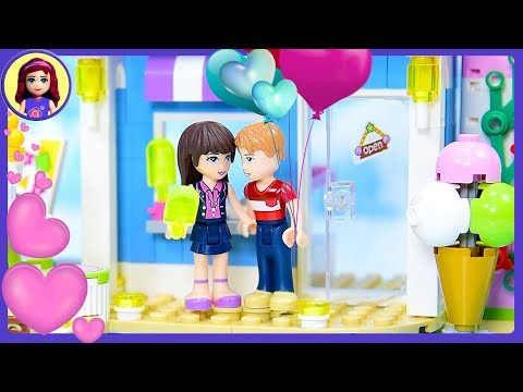 A Lego Friends Silly Love Story - When Henry Met Sophie - Kids Toys