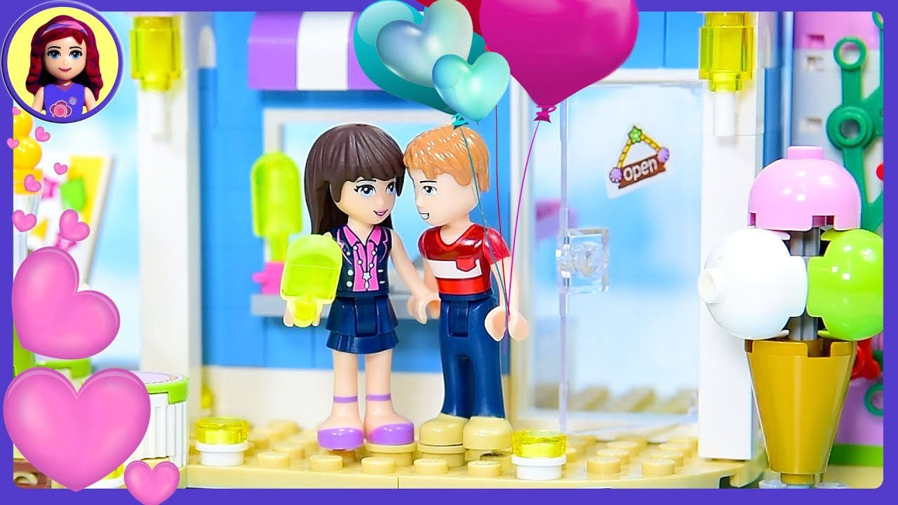 When Henry Met Sophie A Lego Friends Love Story Kids Toys Youtube
