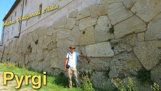 Pyrgi - Mura poligonali d'Italia