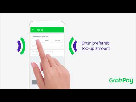 How to top up GrabPay via Credit or Debit card (Malaysia)