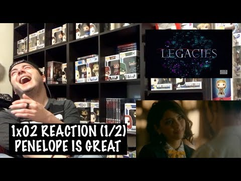 Download LEGACIES - 1x02 ' SOME PEOPLE JUST WANT TO WATCH THE WORLD BURN' REACTION (1/2)