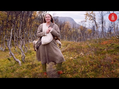 Norske Ingrid lever som en viking