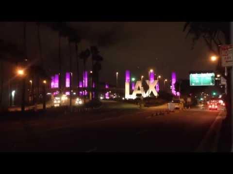 Century Boulevard at Night!