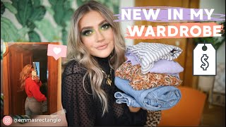 HUGE ASOS HAUL | WHATS NEW IN MY WAREDROBE! | SIZE 8-10 TRY- ON | EmmasRectangle