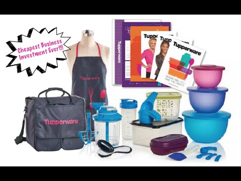 Tupperware - Fall 2016 New Consultant Kit