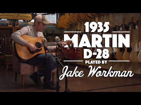 1935 Martin D-28 Played By Jake Workman