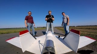 UAV with Power Turbine - Maximum speeds and missile launches