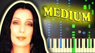 CHER - BELIEVE - Piano Tutorial