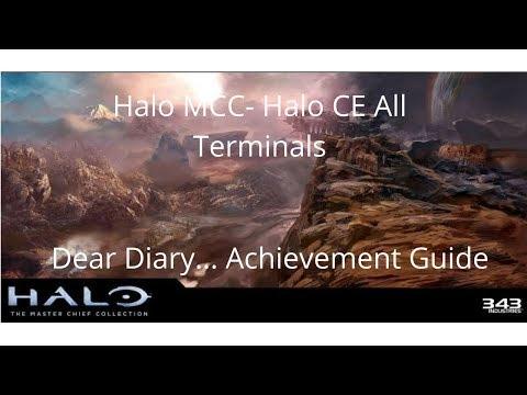 Halo MCC - Halo CE All Terminals: Dear Diary... Achievement Guide