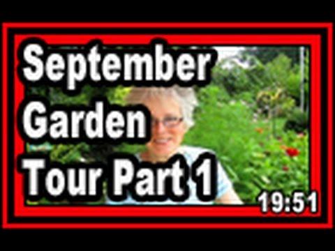 September Garden Tour Part 1 of 4  - Wisconsin Garden Vide Blog 635