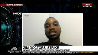 Patients turned away as Zimbabwe doctors' strike continues