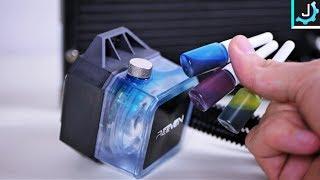 Customizable Water Dye AIO Liquid Cooler! - Reeven Naia