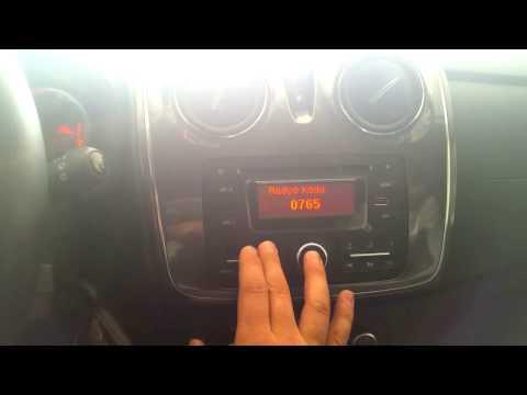 Dacia Stepway Radyo Kodu Nasıl Girilir