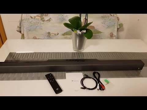 [How To] Soundbar TAOTRONICS TT-SK016 40 Watt