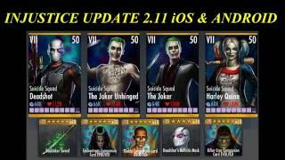 INJUSTICE 2.11 NEW PLAYERS & GEARS IOS/ANDROID(NEW VIDEO ON HOW TO UNLOCK UNRELEASED PLAYERS INJUSTICE UPDATE 2.11 FOR iOS/ANDROID: ..., 2016-08-04T03:20:02.000Z)