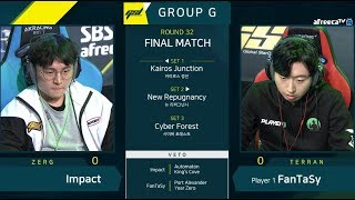 [2019 GSL S1] Ro.32 Group G Match5 Impact vs FanTaSy