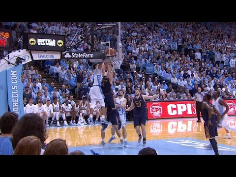 UNC Men's Basketball: Cameron Johnson's Flush vs Notre Dame