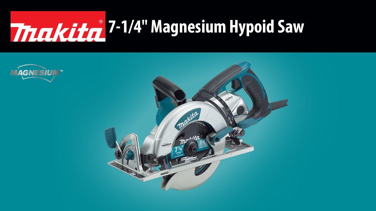 Makita 7 14 magnesium hypoid saw 5377mg youtube youtube premium greentooth Choice Image