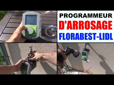 programmateur d'arrosage florabest lidl FBC 7 B2