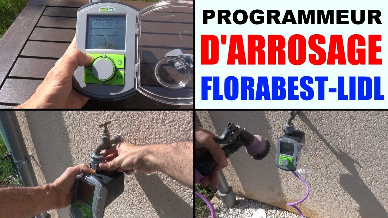 Programmateur Darrosage Florabest Lidl Fbc 7 B2